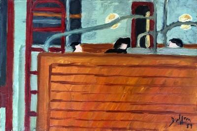 Jacques André Duffour (1926-2016)Metro banquette, 1959