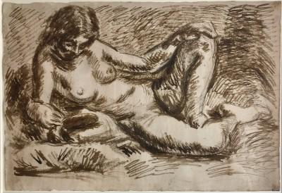 Duncan Grant (1885-1978)Reclining Nude, c, 1930