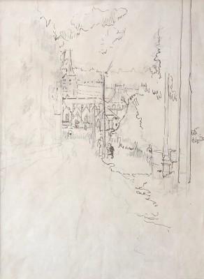 Walter Sickert (1860-1942)Envermeu, Nr. Dieppe, 1919