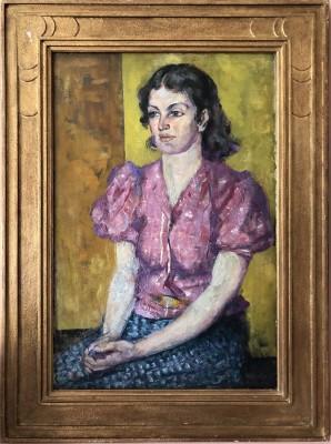 Alfred Wolmark (1871-1961)Portrait of a Woman, 1938