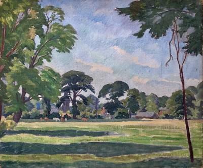 Ethelbert White (1891-1972)Summer Landscape, Sussex, c. 1935