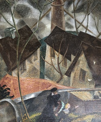 Doris Hatt (1890-1969)A Winter's Day, Thaxted, 1929