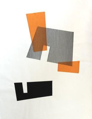 Robert Adams (1917-1984)Rectangular Forms, 1955