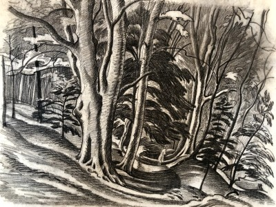 Ethelbert White (1891-1972)The Forest Pool, c. 1927