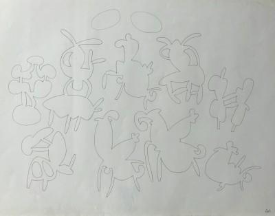 Allan Milner (1910-1984)Animal Forms, c. 1950s