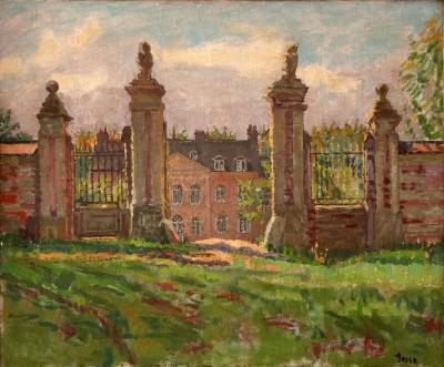 Sylvia Gosse (1881-1968)The Chateau-Sauchay le Haut, 1922