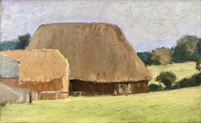 William Cubbitt Cooke (1866-1951)Hampshire Landscape Study, c. 1900