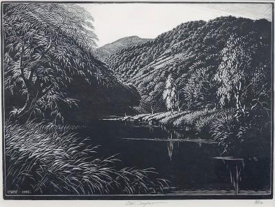 Charles William Taylor (1878-1960)Lake Landscape, c. 1930's
