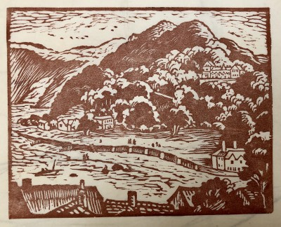 Ethelbert White (1891-1972)The Tors, Lynton, 1956