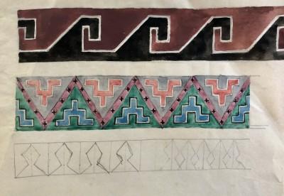 Dorothea Maclagan (1895-1982)Abstract Designs II, c. 1930