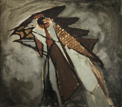 Peter Haigh (1914-1994)Cockerel, 1954