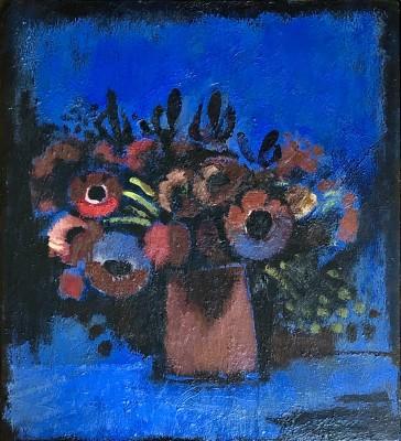 Josef Herman (1911-2000)Flowers, 1979
