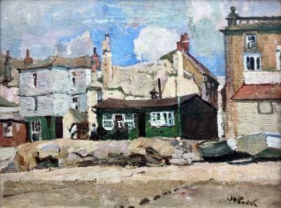 John Anthony Park (1880-1962)The Fishermen's Rest, St. Ives, c. 1920
