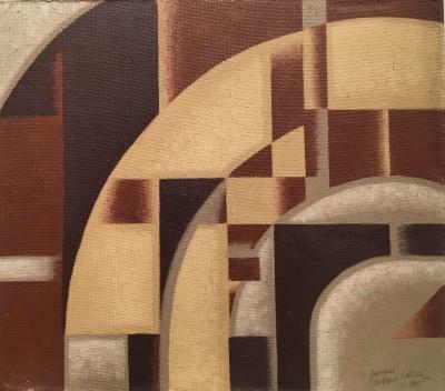 Arthur Cyril Hilton (1897-1960)Cubist Composition, 1930s