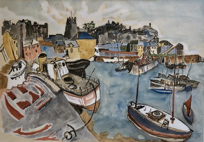 Tom Early (1914-1967)Brixham Harbour, 1948