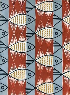 Alfred Page (d. 1974)Fish Design, c. 1950