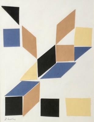 Robert Medley (1905-1994)Constructivist Composition, c. 1960