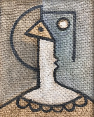 William Lyons Wilson (1892-1981)Bust of a Woman, c. 1948