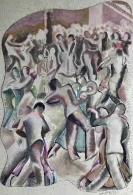 Frederick Hinchliff (1894-1962)Dance Hall, 1937