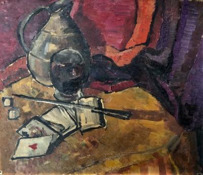 Alice Halicka (1894-1975)Still Life with Ace of Hearts, c. 1926