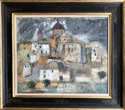 Anne Redpath (1895-1965)Spanish Landscape, Requena, 1951