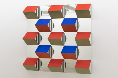 prisms, colors and mirrors: high-relief > situated works