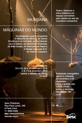mundana + : máquinas do mundo
