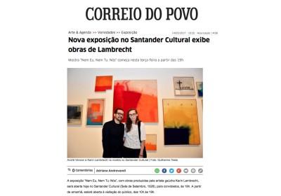 nova exposição no santander cultural exibe obras de lambrecht