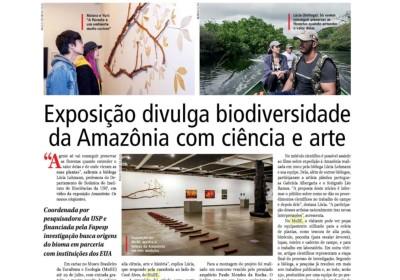 exposição divulga biodiversidade da amazônia com ciência e arte