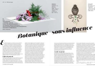 botanique sous influence