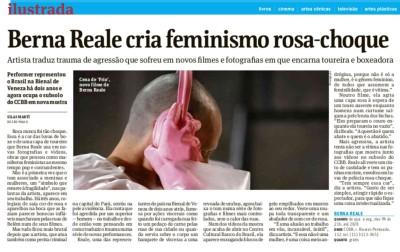 berna reale cria feminismo rosa-choque
