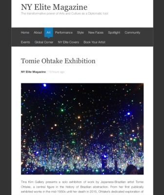 tomie ohtake exhibition