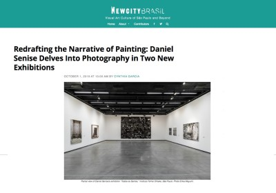 redrafting the narrative of painting: daniel senise delves into photography in two new exhibitions