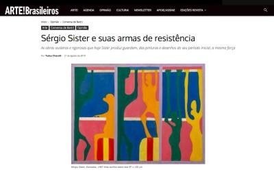 sérgio sister e suas armas de resistência