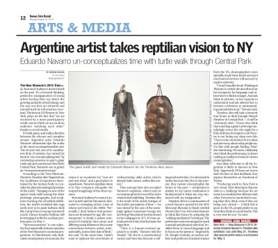argentine artist takes reptilian vision to ny