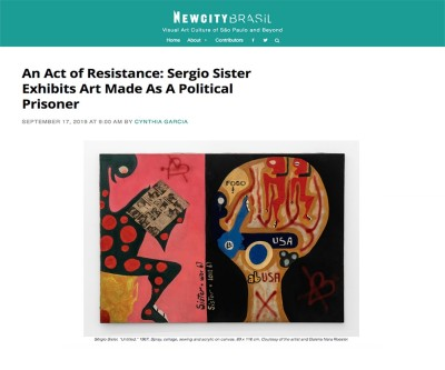 an act of resistance: sergio sister exhibits art made as a political prisoner