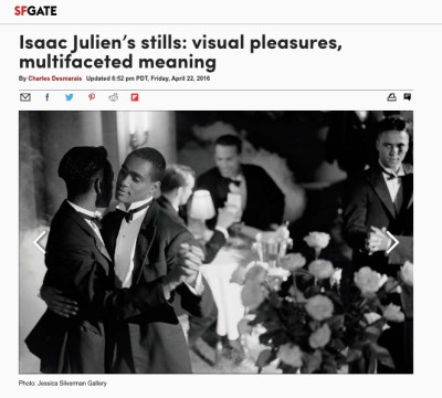 isaac julien's stills: visual pleasures, multifaceted meaning
