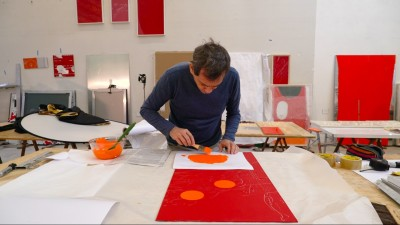 in the studio | carlito carvalhosa
