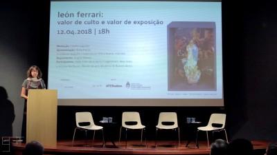 conferência | león ferrari: valor de culto e valor de exposição