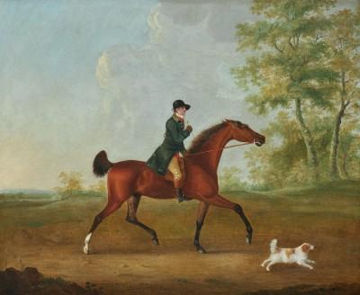 John Nost Sartorius , Huntsman and his hound