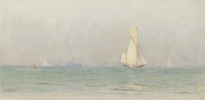 Alma Claude Burton Cull , View from the shore June 15, 2-4pm