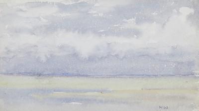 Norman Wilkinson , CBE, SMA, PRWS, RI, Study of the sea