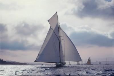 Jamie Medlin , Light airs to the finish, St. Tropez