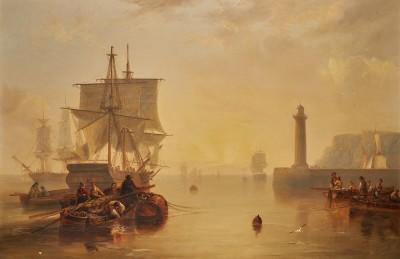 John Wilson Carmichael , Whitby Harbour