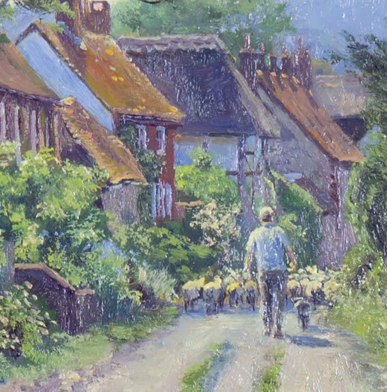 Through the Village