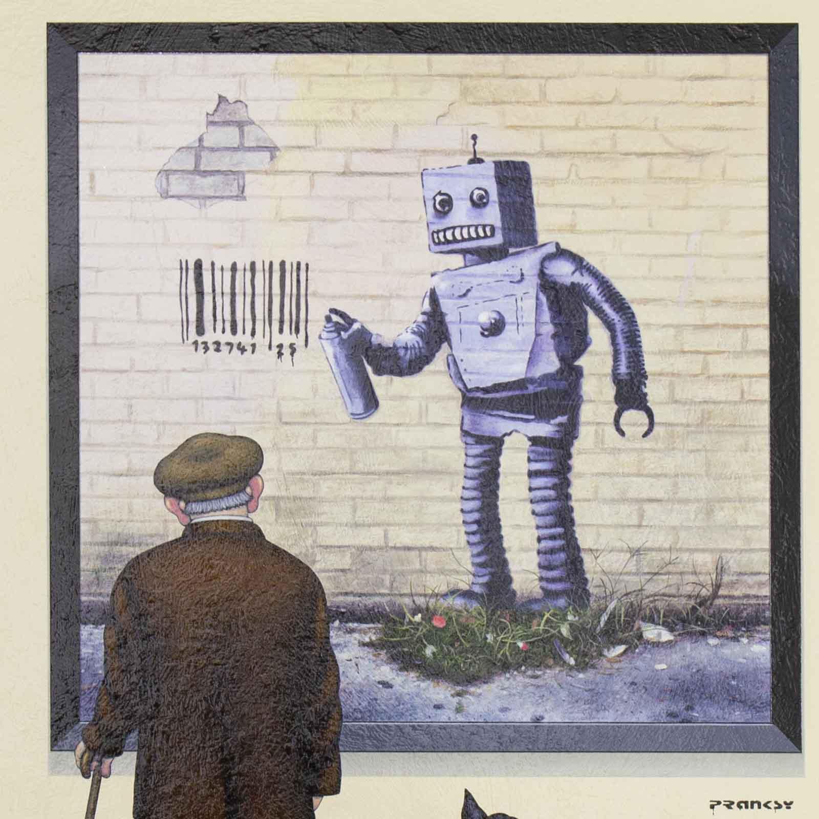 Pranksy – Robot Art