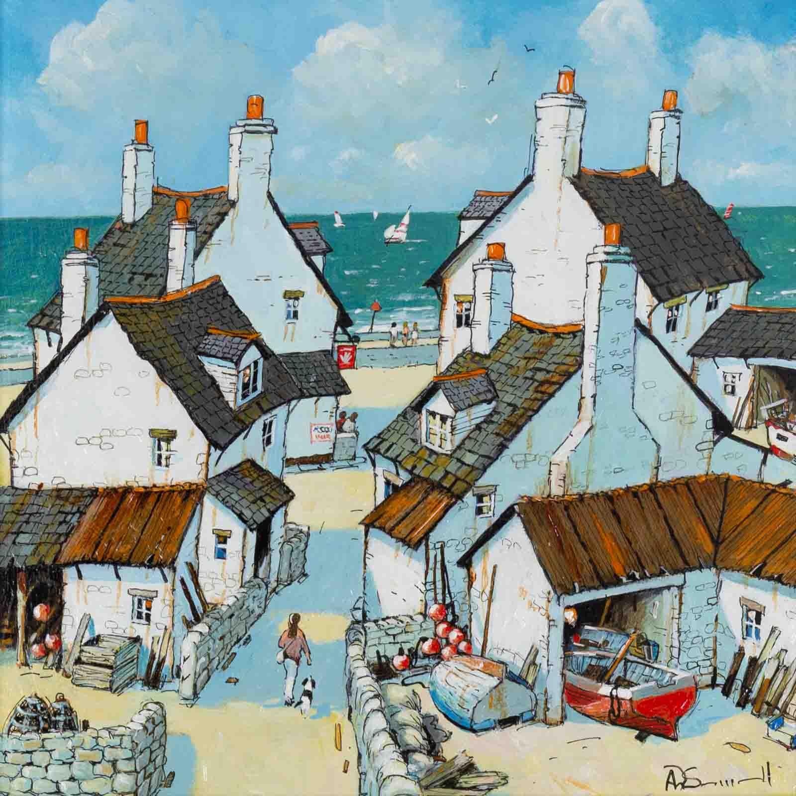 Cornish Fishing Village