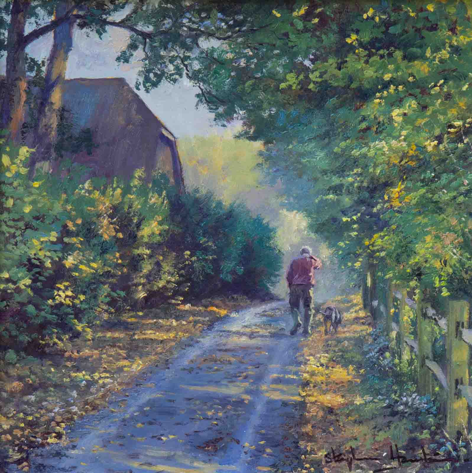 A Walk Down the Lane
