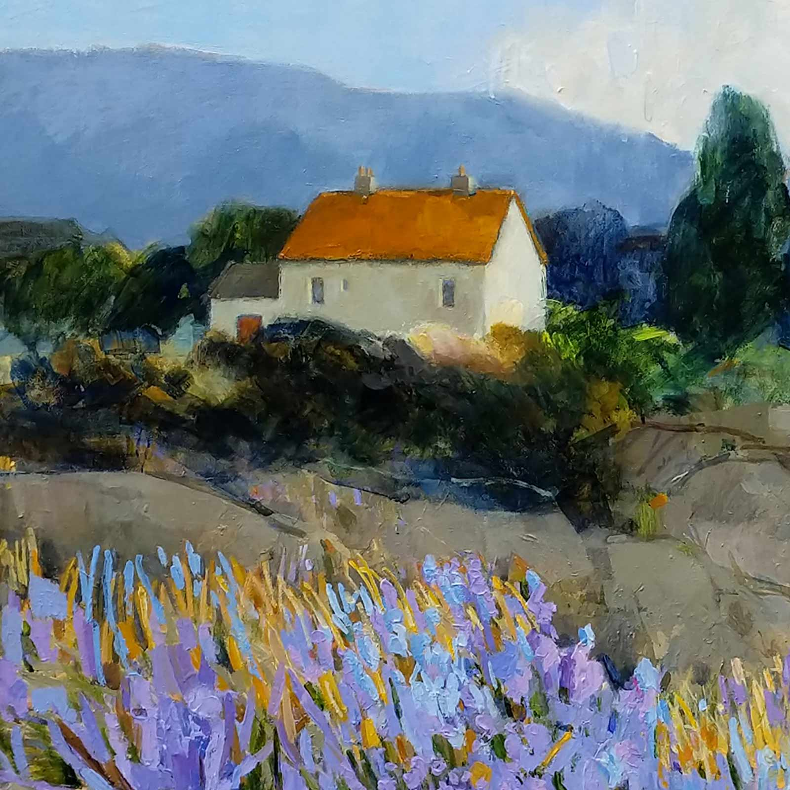 Rocky Landscape, Provence
