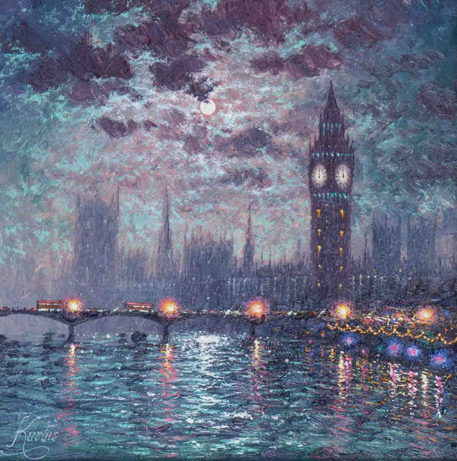 Westminster By Moonlight